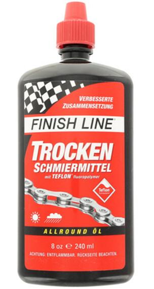 Finish Line Trockenschmiermittel mit 240ml Spritzflasche , punainen/musta